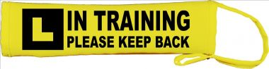In Training Please Keep Back Lead Cover / Slip