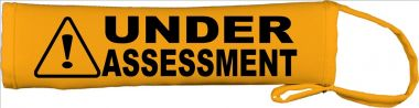 Caution: Under Assessment Lead Cover / Slip