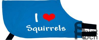 I Love Squirrels - Greyhound Coat