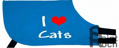 I Love Cats - Greyhound Coat